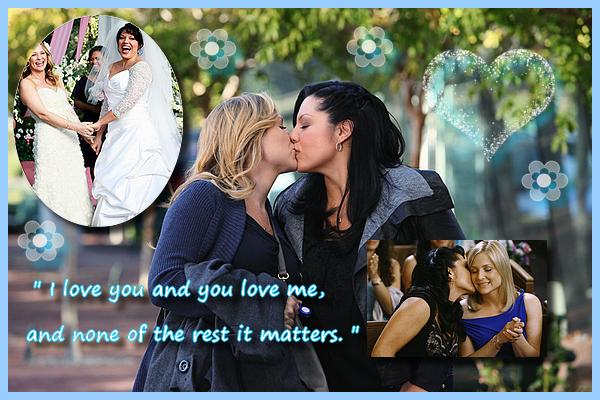 [Mon Top 5] Mes scènes préférées de Grey's Anatomy : Callie et Arizona