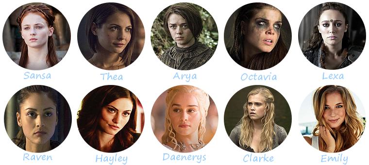 [Mon Top 10] Les personnages féminins les plus badass