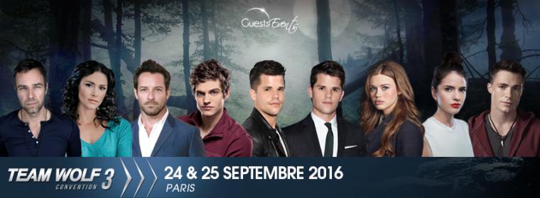 [Zoom sur...] Mon expérience à la convention Teen Wolf à Paris (24/25 septembre 2016)