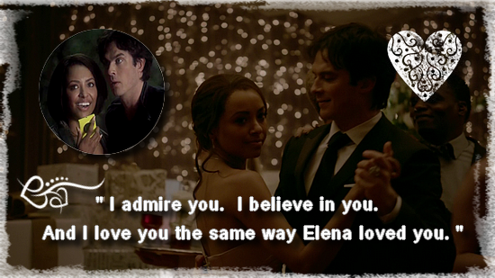 [Mon Top 5] Mes scènes préférées de Vampire Diaries : Damon et Bonnie