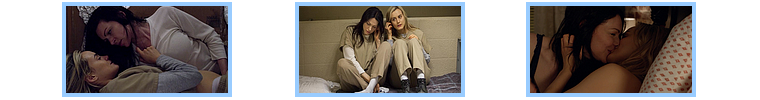 [Mon Top 5] Mes scènes préférées de Orange is the new black : Piper/Alex
