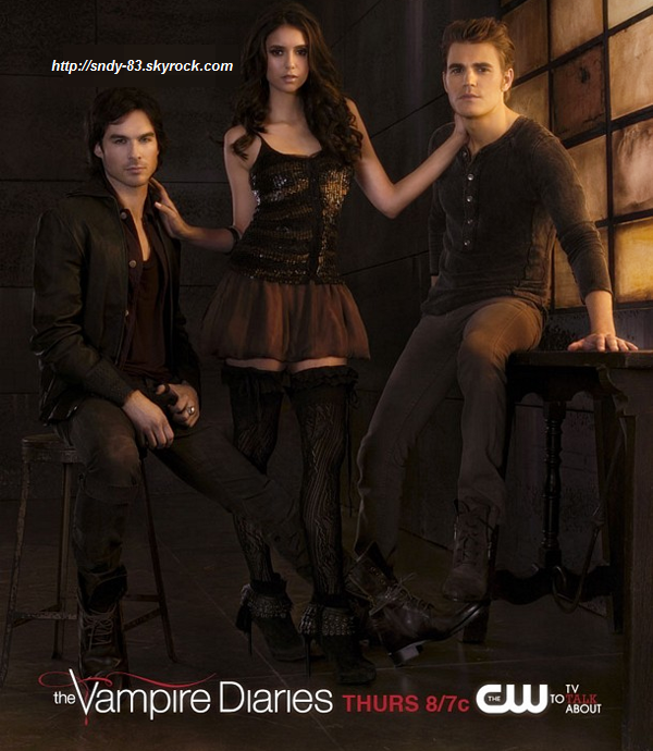 Nouveau Shoot Promotionel de la saison de 3 Vampire Diaries