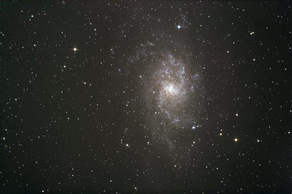 (318) Messier 33, galaxie du triangle
