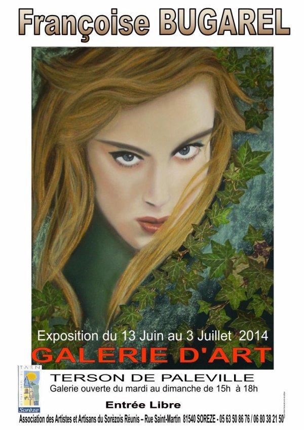Exposition Galerie d' Art  Terson de Paleville  SOREZE