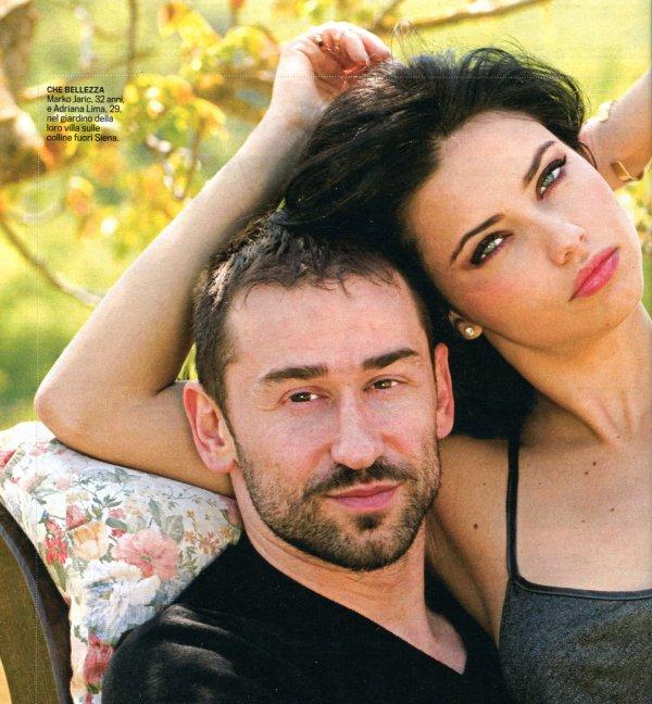 """Le 30 avril 2010 : Marko et Adriana posent pour """"basketsiena.info"""""""