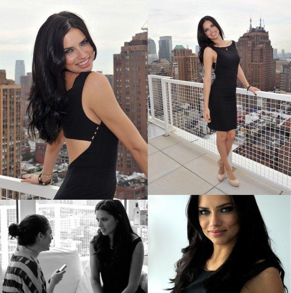 Le 19 Mai 2011 : Adriana pour la promo de la Marque Victoria's secret qui créer l'événement en invitant des blogueurs