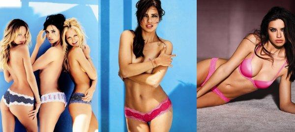 Adriana se dévoile pour Victoria's Secret !!!!