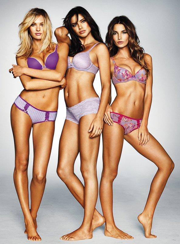 """Trois anges pour """"Victoria's secret"""""""
