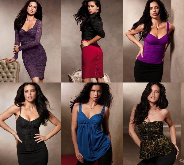 Le 14 Juillet 2011 : Adriana pour la collection de vêtement de la marque Victoria's secret