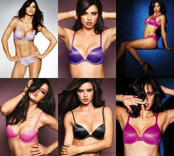 Le 18 Juillet 2011 : Adriana pour Victoria's Secret
