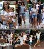 Le 3  aout 2011 à Miami c'est aussi promenade en famille