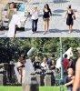 Le 19 Aout 2011 à Prague toujour pour le tournage de la nouvelle publicité de Victoria's secret