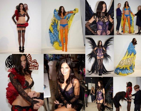 Le 07 novembre 2011 : Adriana pour victoria's secret