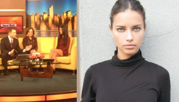 "le 29/11/2011 : deux photos via le facebook et twitter de ""Marilyn Agency NY"" (l'agence d'adriana)"