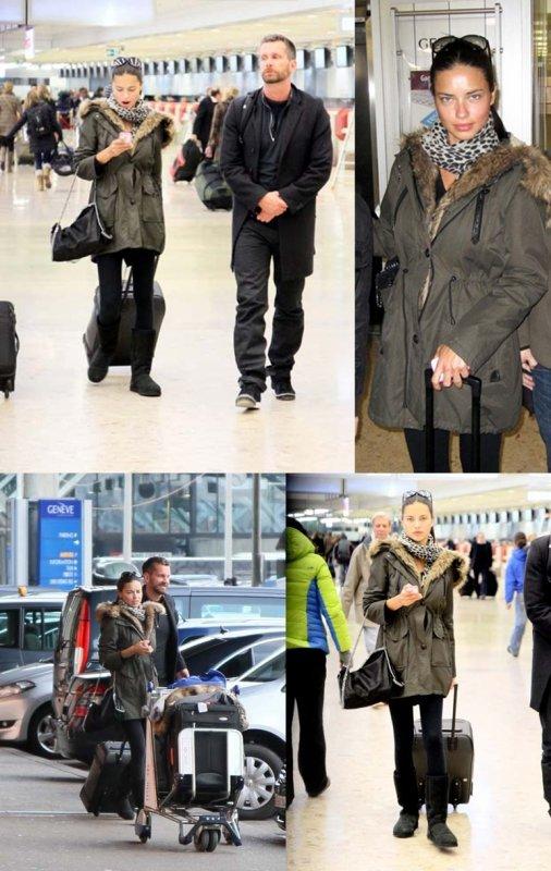 16/01/2012 : Adriana arrive à Genéve