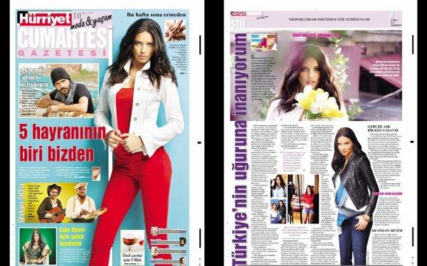 Le 10/03/2012 : Article d'adriana via la page facebook de la marque MAVI