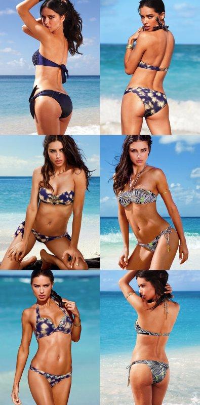 le 16/04/2012 : Adriana pour victoria's secret