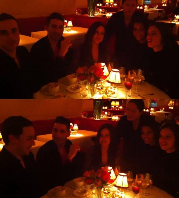 Le 08/2/2012 : adriana avec des amis et le photographe Quinn Murphy