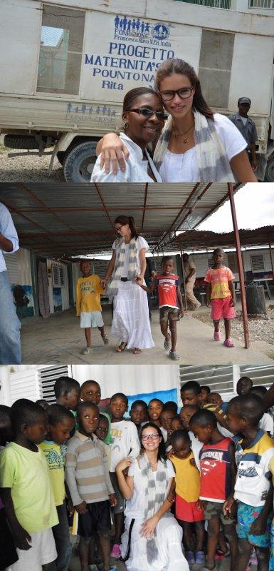 le 12/05/2012 : Haiti ou l'histoire d'adriana , pas la top model mais celle d'etre simplement une mère