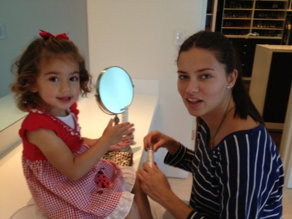le 21/05/2012 : News d'Adriana et de Valentina via le twitter de Marko Jaric :