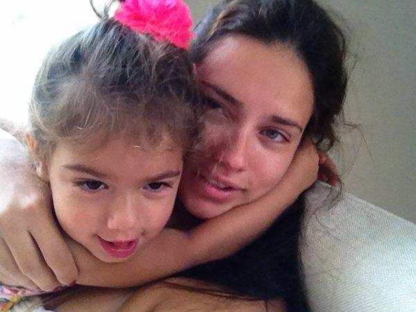 Le 4 Juillet 2012 : Via le twitter d'Adriana