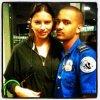 31/08/2012 : Adriana à New-York avec un fan