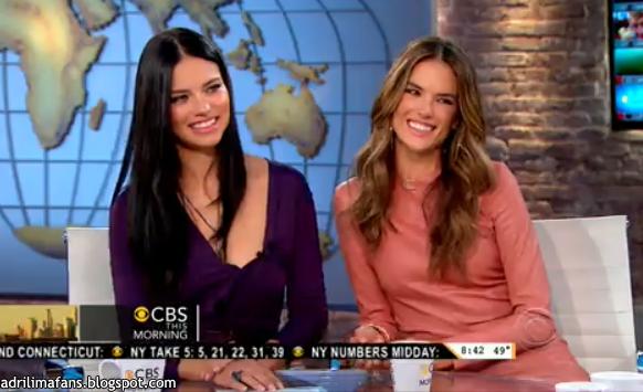 le 4/12/2012 : Adriana et Alesandra au CBS Early Show :