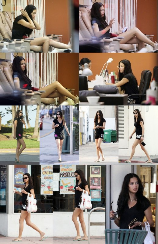 """le 13/1/2012 : Adriana dans """"Miami"""""""