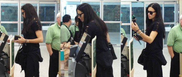 le 16/01/2013 : Adriana dans une épicerie à Miami