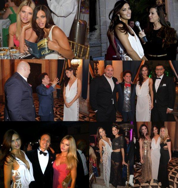 le 26/3/2013 : C'est une Adriana bien présente au gala de la Brazil Foundation à Miami :