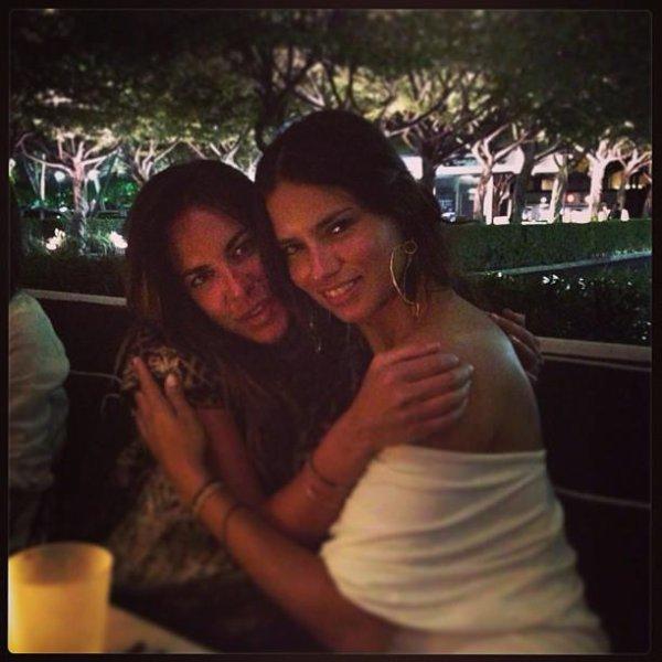 "le 8/04/2013 : Addriana et une amie ""Simona"""