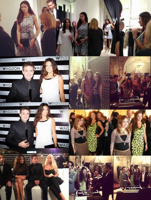le 14/04/2013 : Adriana à fait de la promotion pour Waggon Paris