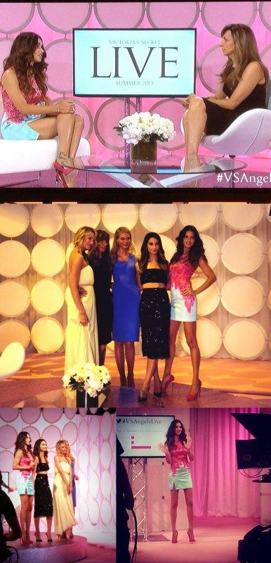 le 30/05/2013 : Adriana pour Victoria 's secret