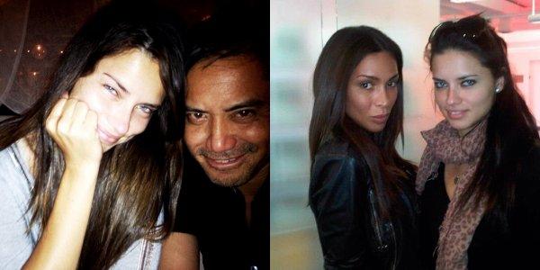 le 13/06/2013 : Jerome Duran et Ines Rau postent une photo d'eux avec adriana