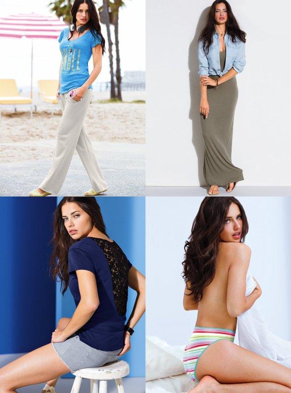 le 24/06/2013 : Adriana pour Victoria's secret