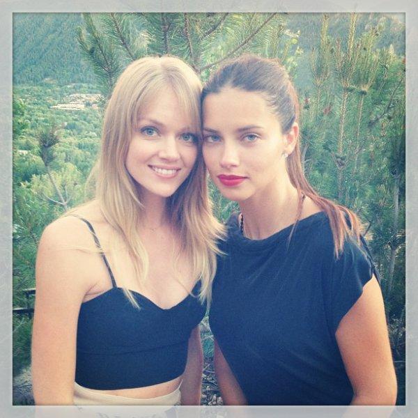 le 28/06/2013 : via le instagram de la top model Lindsay Ellingson