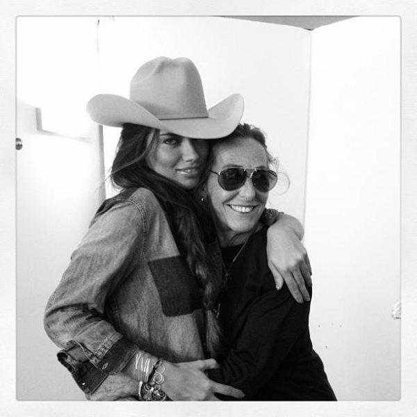 le 4/07/2013 : Adriana via le instagram de Carlyne