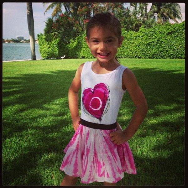 le 13/07/2013 : Valentina par le instagram d'adriana