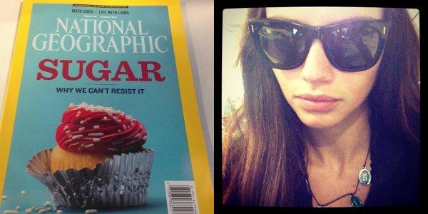 le 23/07/2013 : Adriana poste deux photos via son instagram