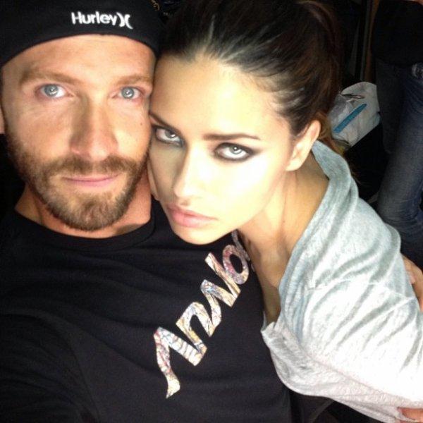 le 16/08/2013 : Adriana via le instagram de giampaolo sgura (Fashion Photographer)