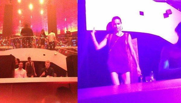 Photos d'adriana lors d'un concert soirée dans la nuit du 15 au 16/08/2013