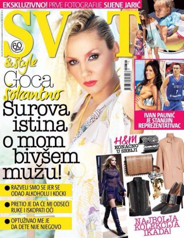 "le 19/7/2013 : Adriana dans le ""Svet & Style"" Edition Serbe"