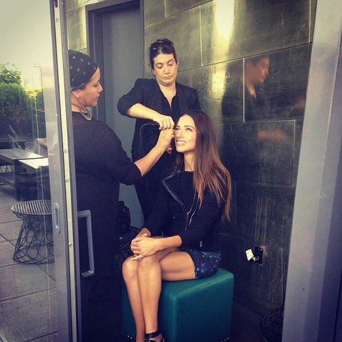 le 9/09/2013 : Adriana Liam et sa journée chargée