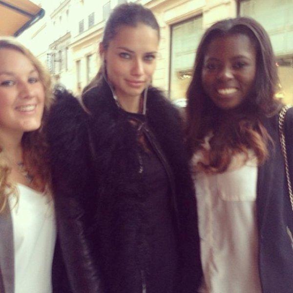 Du 16 au 17 septembre 2013 : Adriana et la France