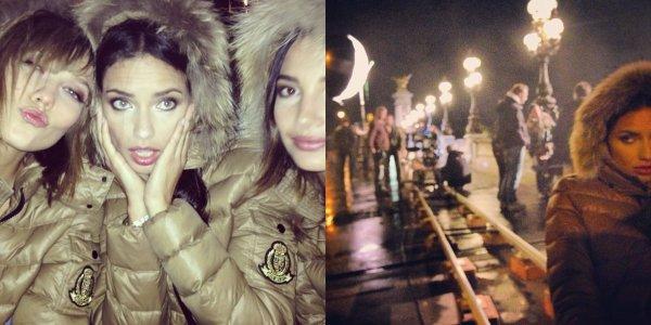 le 19 septembre 2013 : Adriana et son 3eme jours en France