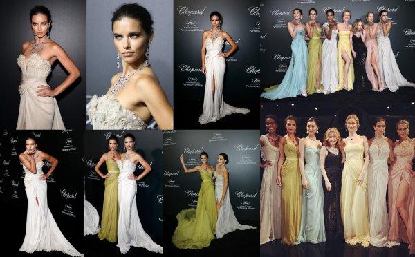 le 19 Mai 2014 : Adriana est toujours à Cannes en France pour le festival
