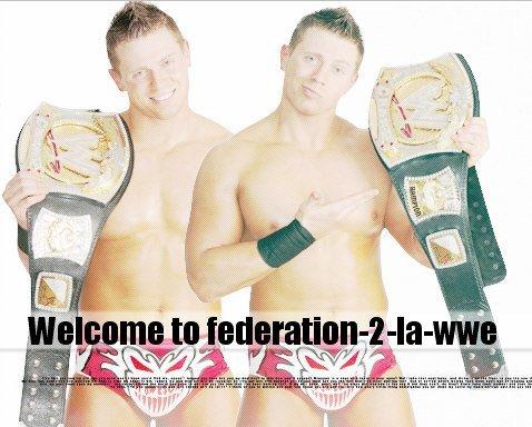 Welcome to Federation-2-La-WWE L'Une des Meilleures Federations du SkyCatch