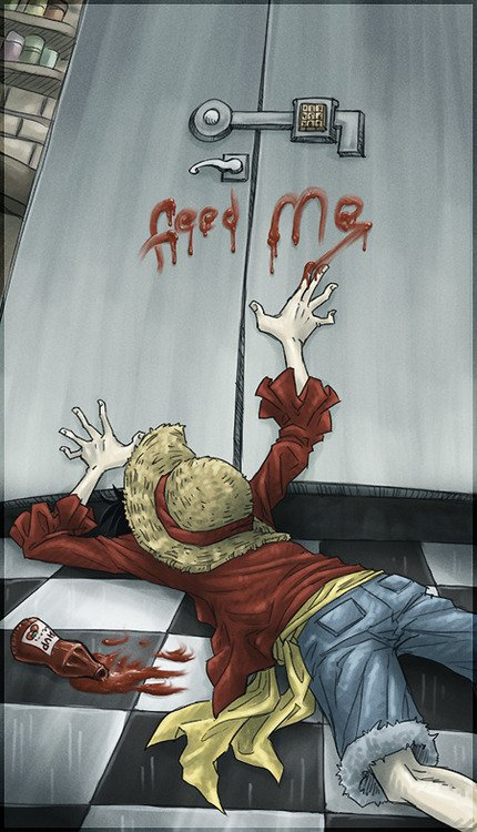 Je comprend Luffy...