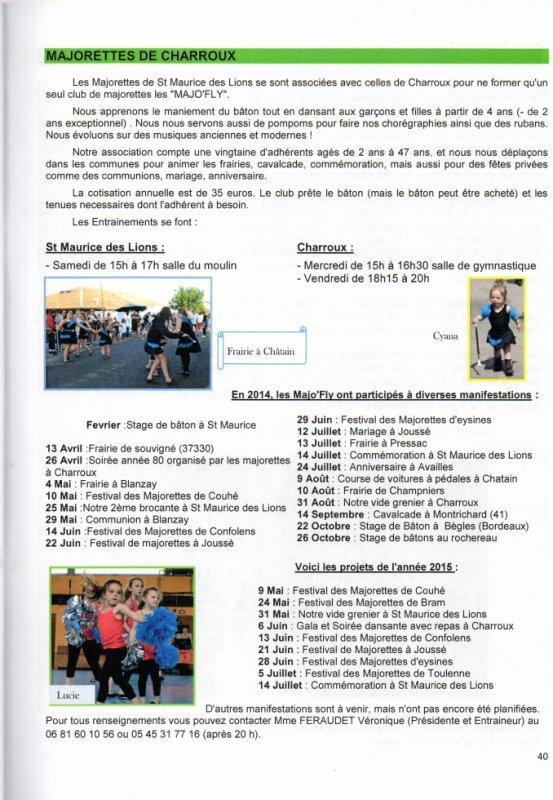 Bulletin municipal de Charroux