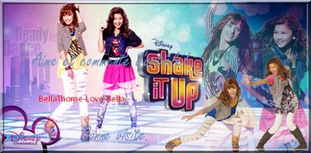Nouvelle chanson pour Shake It Up De Bella Thorne ''TTYLXOX''